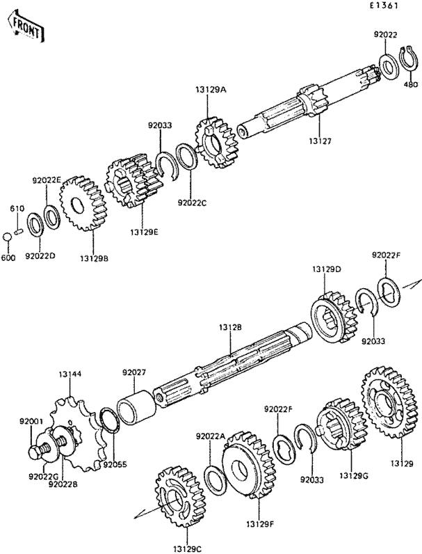 Bayou Kawasaki Klf185 A Wiring Diagram