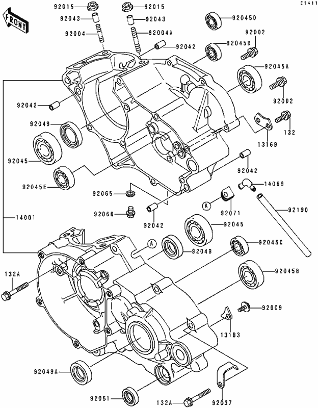 Kawasaki Kx80 Wiring Diagram