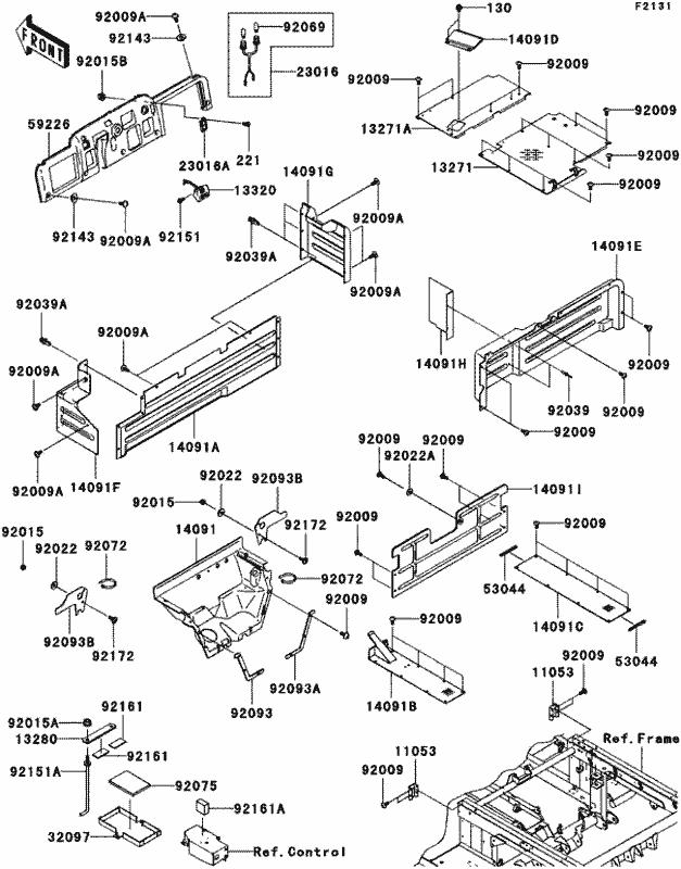 Kawasaki Mule Kaf620m Wiring Diagram