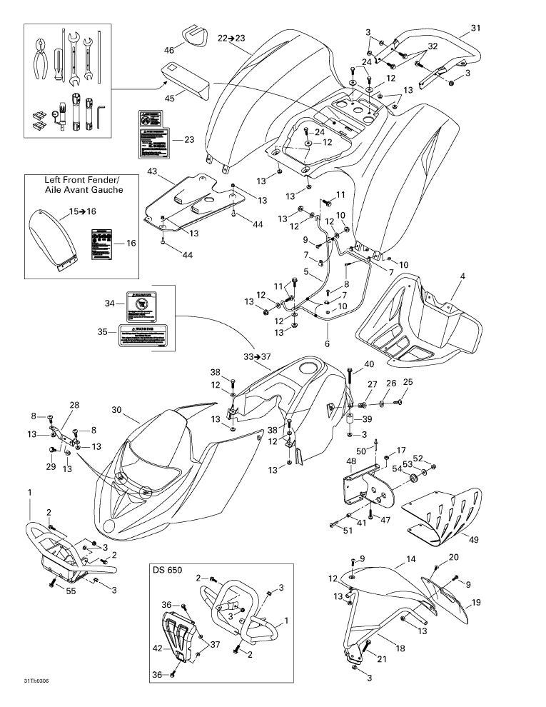 Ds 650 Wiring Diagram