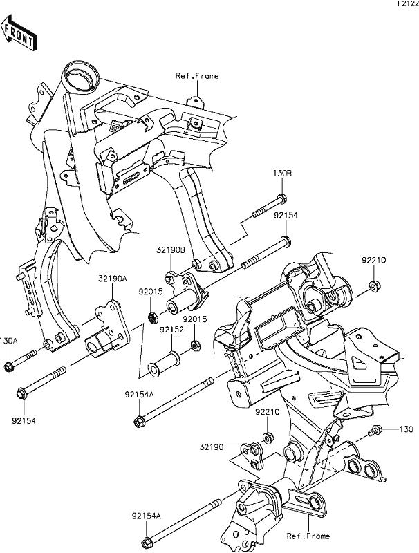 roberton\u0027s motorcycles ex650 (ninja 650l (lams) abs) 2014 Kawasaki Engine Mounting Diagrams Kawasaki Engine Mounting Diagrams #19